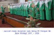 Ketua PC Fatayat NU Situbondo Resmi Di Lantik Pereode 2021 - 2026