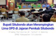Lima OPD Pemkab Situbondo Direncanakan Akan Dirampingkan