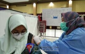 Lanjutkan Serbuan Vaksinasi Maritim, AAL Lengkapi Vaksin Dosis Kedua Siswa Smamda Sidoarjo