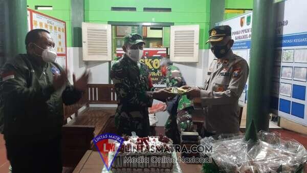 Ucapan Selamat Hari Ulang Tahun TNI ke-76 dari Kapolsek dan Camat Pandaan