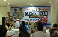 Kapolres Cangkruan Bareng Komunitas Netizen Pasuruan