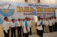 Ketum H Umar Wiro Hadi SH.MM Kukuhkan MPN Korwil Kabupaten Tulungagung