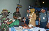 Peringati HUT ke-69, Komandan Lantamal V Buka Bhakti Sosial Kesehatan di Jember