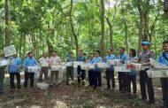 Ribuan Burung yang Diselundupkan ke Bali Dilepasliarkan kembali
