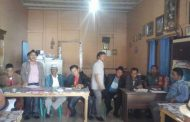 Babinsa Kodim 0210/19 Tapanuli Utara Hadiri Rapat Pemilihan BPD