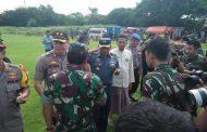 Danlanal Banyuwangi Dampingi Kunjungan Kerja Panglima TNI dan Kapolri di Probolinggo