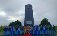 HUT ke-55 Dharma Pertiwi, Ketua Cabang 3 Korcab V DJA II Ziarah TMP Tanjung Nirwana Purwokerto