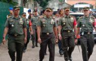 PANGDAM DAN KASREM 082/CPYJ DAMPINGI KUNJUNGAN WAKIL PRESIDEN MA'RUF AMIN
