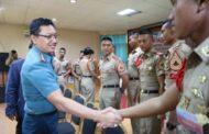 Danlanal Malang Hadiri Pembukaan Lattek Taruna AAL Tingkat IV Korps Elektronika di P4TK Arjosari
