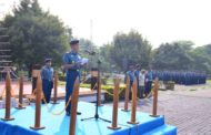 Catatat Pelanggaran Nol Persen Diakhir Tahun 2019, Komandan Lantamal V Apresiasi Prajurit dan PNS Jajarannya