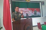 Pelantikan Pengurus HIPAKAD DPC Malang, Di Aula Makorem 083/BDJ.