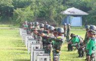 Asah Kemampuan Tempur, Taruna AAL Latih Menembak Kualifikasi Pistol