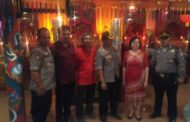 Wakapolresta Sidoarjo bersama Kapolsek Krian Kunjungi Klenteng Tri Dharma Teng Swie Bio , Krian