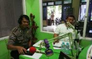 Jelang Pilkades Serentak Kasat Binmas Polresta Sidoarjo Berikan Himbauan ke Masyarakat