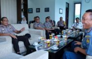 Jalin Sinergitas TNI-Polri, Kapolresta Sidoarjo Silaturahmi dengan Danlanudal Juanda