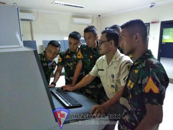 Seakan di Kapal Perang, Taruna AAL Korps Teknik Lattek di Laboratorium Real Engine Simulator