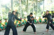 Silat Nusantara Menjadi Tujuan Utama Disjasad Kunjungi Yonarmed 1/Divif 2 Kostrad