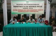 Gelar acara PERDANA PEMBENTUKAN PANITIA PAW Desa Rebalas