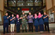 Pangdivif 2 Kostrad Menerima Kunjungan Kepala BPS Provinsi Jatim di Madivif 2 Kostrad