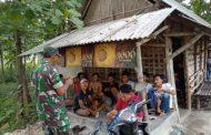 PERWIRA PERTAMA TNI-AD TERJUN DI DESA WANAR