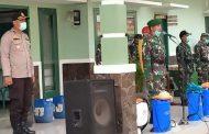 TNI-POLRI TANGKAL CORONA DI KECAMATAN SEMAMPIR