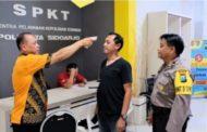 Antisipasi Corona, Mako Polresta Sidoarjo Dilengkapi Hand Sanitizer dan Pengukur Suhu Tubuh
