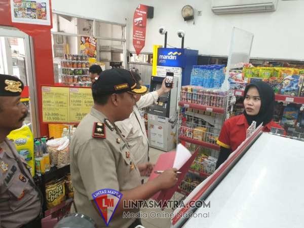 Antisipasi Penimbunan Masker, Di Sidoarjo Polisi Lakukan Pengecekan Sejumlah Tempat