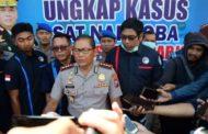 76 Tersangka dari 64 Kasus Penyalahgunaan Narkoba Berhasil Diamankan Polresta Sidoarjo