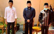 Melayat Ibunda Pak Jokowi, Ibu Sujiatmi Notomiharjo.