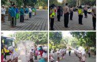 Puluhan Santriwati Ponpes Sidogiri Tiba di Sidoarjo Jalani Cek Kesehatan