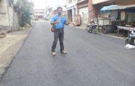 Pemko  Hotmix Beberapa Ruas Jalan Untuk Keindahan dan Kesehatan Kota