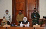Pangdivif 2 Kostrad Hadiri Acara Pembahasan Persiapan Pembatasan Sosisal Berskala Besar (PSBB) Wilayah Malang Raya