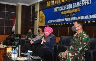 Pangdivif 2 Kostrad Hadiri Tactical Floor Game (TFG) Dalam Rangka Kesiapan Penerapan PSBB Wilayah Malang Raya