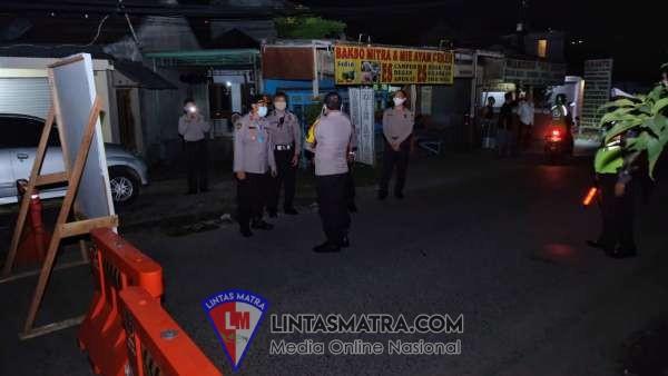 Jaga Kondusifitas Kamtibmas di Tengah Pandemi Covid-19, Kapolresta Sidoarjo Turun Langsung Patroli Malam Takbiran