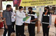 30 Relawan Covid 19 Sidoarjo dapat Kartu BPJS Ketenagakerjaan Gratis