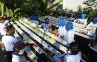 Jalasenastri Cabang 6 Lanal Banyuwangi Budidaya Tanaman Hidroponik