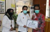Gugus Tugas Covid-19 Kabupaten Sidoarjo Salurkan Dana Operasional PSBB Tahap Tiga Senilai 6,258 Milyar Untuk 2.086 RW