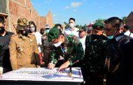 Pangdivif 2 Kostrad Resmikan Perumahan Prajurit Dharaka Residence Jember