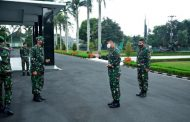 Pangdivif 2 Kostrad Mayjen TNI Tri Yuniarto Terima Kunjungan Danrem 083/BDJ Kol Inf Irwan Subekti