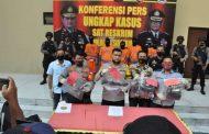 Lima Pelaku Penusukan di Bypass Juanda Berhasil Diringkus Polresta Sidoarjo
