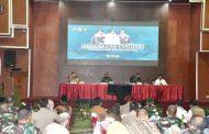 Percepat Penanganan Covid-19 di Jatim, Enam Kepala Daerah Rapat di Gedung Balai Prajurit