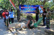Daging Sapi dan Kambing dari Kodim 0812/Lamongan Siap Disebar