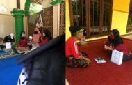 PMM UMM 01 Giatkan Penggunaan Masker dan Mentaati Protokol Kesehatan Kepada Warga Desa Pacangan