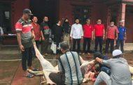 DPC PDIP Kota Tebing Tinggi sembelih Tiga ekor hewan Qurban di Idul adha 1441 H