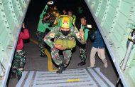 Jelang Wing Day, 18 Taruna  AAL Tingkat lV Korps Marinir Lakukan Penerjunan Malam