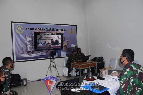 Gubernur AAL Ikuti Rapat Jajaran TNI Bahas Evaluasi Pendisiplinan Protokol Kesehatan