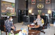 Letkol Laut (PM) Nurul Fatta Lubis CC ke Polrestabes Surabaya