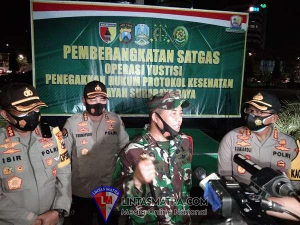 Satgas Operasi Yustisi Protokol Kesehatan bakal Tindak Masyarakat yang Tak Disiplin