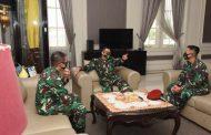 Gubernur AAL Terima Kunjungan Kerja Komandan Pusat Pasukan Katak
