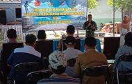 Danlanal Batuporon Buka Karya Bakti TNI Rutilahu TA. 2020 di Desa Padelegen